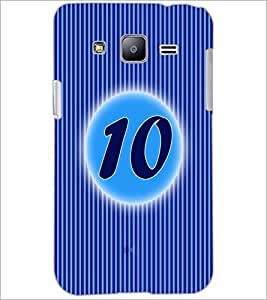 PrintDhaba Numerology Number 10 D-2566 Back Case Cover for SAMSUNG GALAXY J2 (Multi-Coloured)