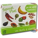 """Jeu de 42 cartes : 7 familles """"Fruits et Légumes"""""""