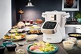 Krups HP5031 Prep & Cook Multifunktions-Küchenmaschine inkl. hochwertigem Zubehör (1.550 W und bis zu 15.000 U/min) -