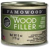 FAMOWOOD Original Wood Filler - Alder - 1/4 Pint Net Wt 6oz(170g)