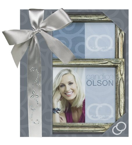 Main Street Decor DECO3BS4657CSBX Candice Olson Silver Gift Box Set, 4 by 6/5 by 7-Inch