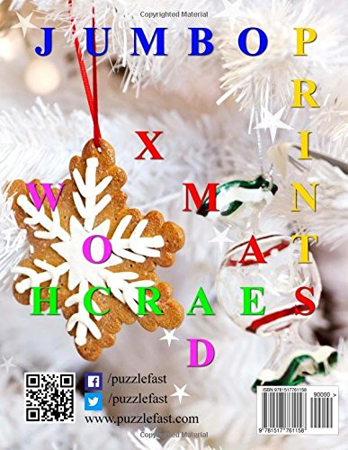 Christmas Jumbo Print Word Search (Jumbo Print Puzzle Books)