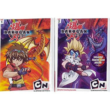 Bakugan Vol 1 2