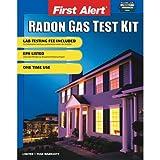 First Alert RD1 DIY Home Radon Test Kit with All Test Materials,