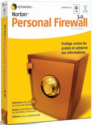 Norton Personal Firewall For Macintosh - (Version 3.0 ) - Ensemble Complet - 1 Utilisateur - Cd - Mac - Français