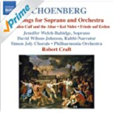 Schoenberg: 6 Orchestral Songs / Kol Nidre / Friede Auf Erden (Schoenberg, Vol. 7)