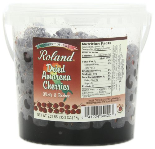 Roland Amarena Cherries, Dried, 35.3-Ounce