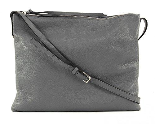 COCCINELLE Mila Crossoverbag Asphalt