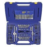 Irwin Tools 26377 117 Piece Machine Screw/Fractional/Metric Tap and Hex Die Set with Drill Bit Set ~ Irwin Tools