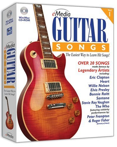 Emedia Guitar Songs 1 Version 2.0 [Old Version] front-986845