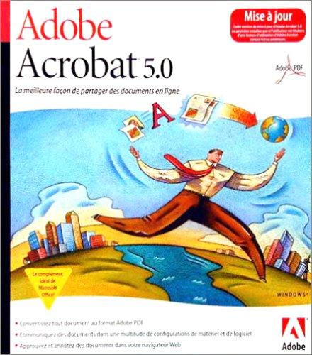 Adobe Acrobat V5.0 Win Fr/can ( 22001450 )