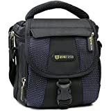 Evecase Compact Camera Case/Bag with Strap for Nikon COOLPIX P610, P600, P530, P520, L840, L830, L820, L810, L310, L120, S2, J5, J4, V3 Camera and more