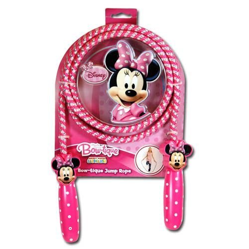 What Kids Want Minnie Mouse Bow - Tique Shaped Handle Jump Rope - 1