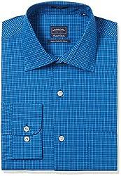 Arrow Men's Formal Shirt (8907378507709_ASSF0099_40_Turquoise)