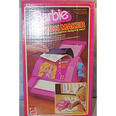 Amazon.com: 1980 Vintage Barbie Fashion Maker **Used**