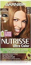 Garnier Nutrisse Haircolor B3 Golden Brown Cafe Con Leche