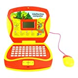 Cartoon Dinosaurs Learn & Play Toy Laptop For Kids, Learn About Letters, Words, Math, Music In Engli