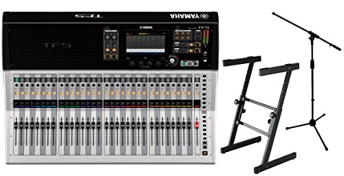 Yamaha TF5 Digital Mixing Console with 6 Mic Boom Stands and Heavey Duty Stand WITH REBATE OFFER