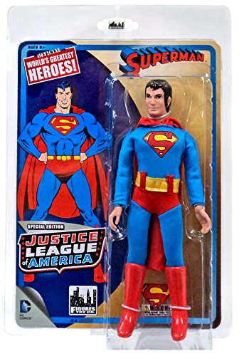 "DC Justice League of America World's Greatest Heroes! Superman 8"" Action Figure"