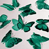 Butterfly 3D Translucent Decoration 12 MERMAID Butterflies