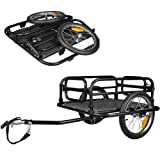 Veelar Foldable Bicycle Cargo Trailer Shopping/Utility Trailer-20300