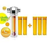 UBS VFS-F+VCF-03 Luxury Vita-Fresh Shower Filter with 5 Vitamin C Cartridge