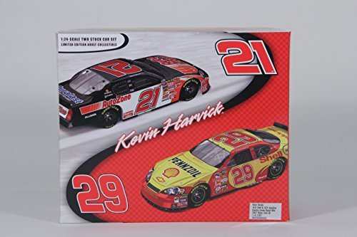 kevin-harvick-29-shell-21-autozone-daytona-sweep-raced-win-2007-monte-carlo-ss-124-scale-cars-by-rcr