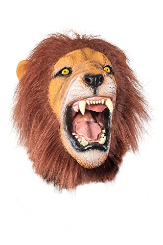 Giant Animal Masks by Allures & Illusions - Lion Head Mask