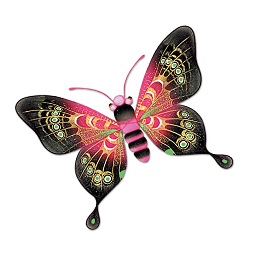 Majestic Butterflies (asstd colors) Party Accessory  (1 count) (1/Pkg)