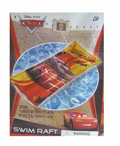 Disney Pixar Cars Swim Raft 46x14 inch Inflat Pool Floating - 1