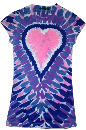 Sublimation Pink Heart Juniors Vintage Style T-Shirt