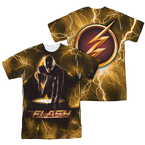 Sublimation Front/Back Bolt The Flash T-Shirt