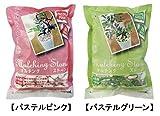 プロトリーフ 園芸用品 マルチングストーン M 1kg×20袋 パステルグリーン