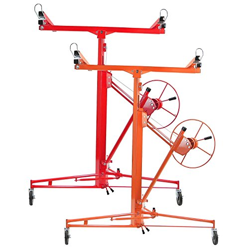 gyptool-11-ft-heavy-duty-drywall-lifter-panel-lift-installation-jack-red
