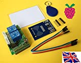 Rs-Pi RFID Reader Kit & 2 relay - step motor board for Raspberry Pi