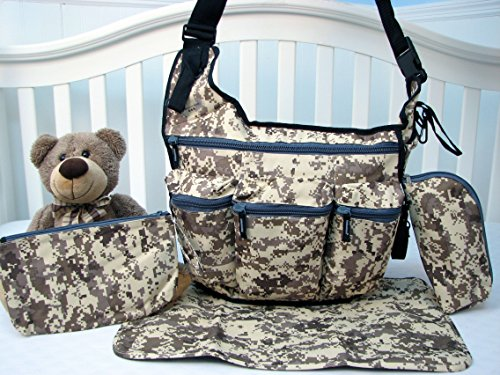 SoHo Daddy, Grand Central 4 pieces Diaper Bag set *Limited time offer !* (Dessert Storm)