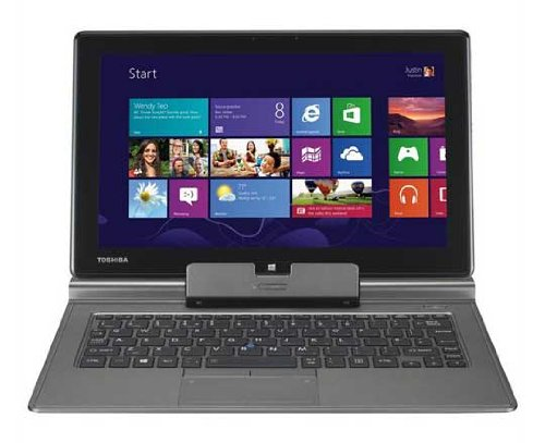 Toshiba Portege Z10t-A1110 Ultrabook/Tablet - 11.6 - In-plane Switching (IPS) Technology - Intel Core i5 i5-3439Y 1.50 GHz - Ultimate Silver