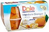 Dole Mandarin in 100% Fruit Juice, 4-Ounce Cups (Pack of 24)