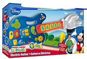 MICKEY MOUSE CLUBHOUSE - LIGHTS & SOUNDS ELECTRIC GUITAR