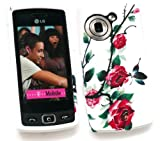 EMARTBUY LG GM360 VIEWTY SNAP GEL SKIN COVER WILD ROSES