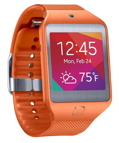Samsung Gear 2 Neo Smartwatch - Orange (US Warranty)