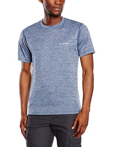 Columbia Rules T-shirt Rinfrescante Omni Freeze Zero, Uomo, Carbon Heather, XL