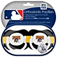 MLB Pittsburgh Pirates Pacifiers, 2-Pack