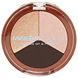 Mineral Fusion Natural Brands Eye Shadow Trio Espresso Gold 0.10 Ounce