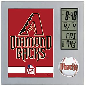 MLB Arizona Diamondbacks Digital Desk Clock by WinCraft
