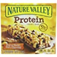 Nature Valley Chewy Protein Bars, Peanut Butter Dark Chocolate, 5 - 1.42 Ounce Bars (Pack of 4)