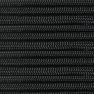 ParacordPlanet 100' 550 Cord Hank of Type III 550 Paracord - Black