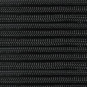 Paracord Planet 10' 550lb Type III Black Paracord