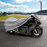 NEH   Cotton Lined 4 Layer Motorcycle Cover Waterproof For Triumph Speed Street Triple Tripple Sprint