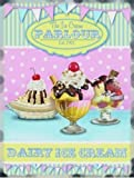 Ice Cream Parlour Sundaes Farm Food Shop Retro Diner, old, vintage, for shop, home, food, kitchen, parlour, cafe or coffee shop. Small Metal/Steel Wall Sign